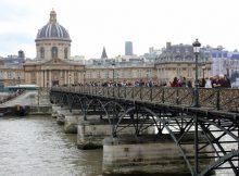 Ponte dos Cadeados - Pont des Arts - Paris