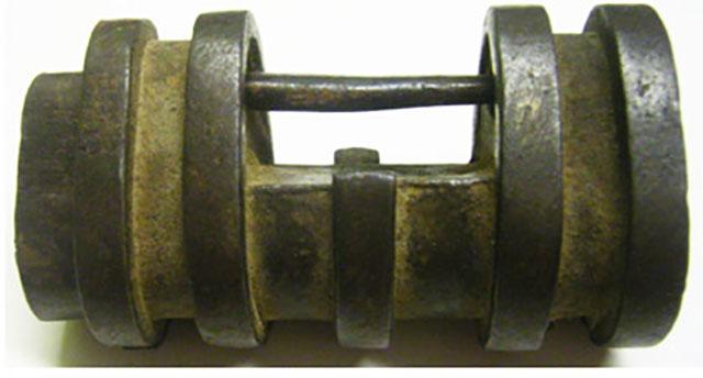 Cadeado de Bronze da Dinastia Ming