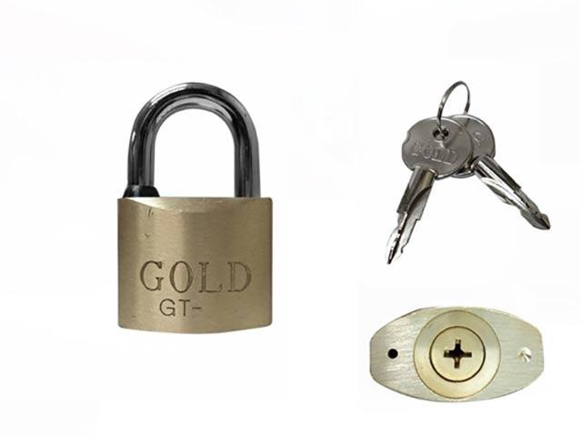 Cadeado Gold Tetra Chave
