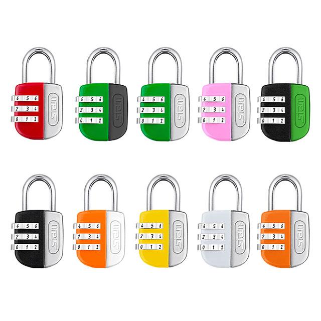 Cadeados coloridos Stam