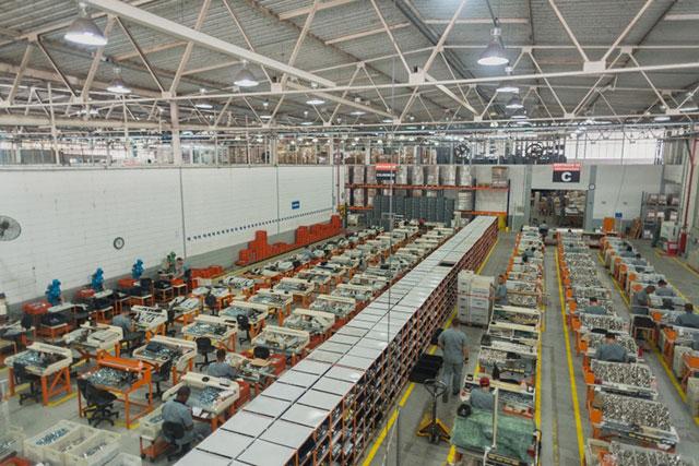 Fabrica Stam área interna